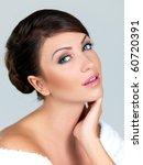 portrait of beautiful woman ... | Shutterstock . vector #60720391