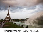 Fountains In Paris At The...