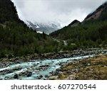 mountain river.   Shutterstock . vector #607270544