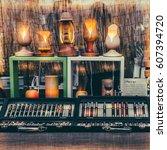 crafts | Shutterstock . vector #607394720