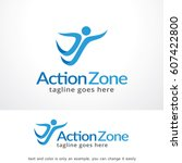 people logo template vector... | Shutterstock .eps vector #607422800