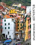 Italy. Narrow Streets Of The...