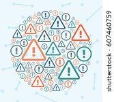 vector illustration of ... | Shutterstock .eps vector #607460759