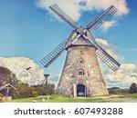 Old Windmill  Latvia  East...