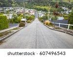 An image of the very steep Baldwin Road in Dunedin New Zealand