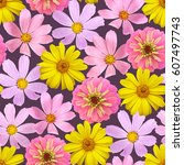Seamless Natural Pattern With...