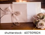 invitations | Shutterstock . vector #607509824