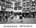 bernkastel  germany   july 19 ... | Shutterstock . vector #607515623