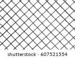 Background Of Metal Mesh  White