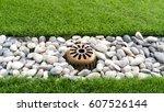 Small photo of Drainage garden floor
