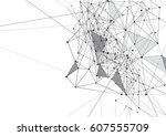 internet connection  abstract... | Shutterstock .eps vector #607555709