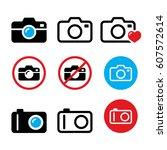 camera  taking photos  no...   Shutterstock .eps vector #607572614
