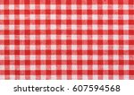 Red Checkered Tablecloth Fabri...