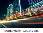 urban roads in the city   Shutterstock . vector #607617986