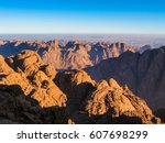 spectacular aerial view of the... | Shutterstock . vector #607698299