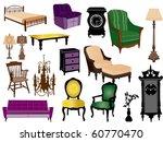 furniture | Shutterstock .eps vector #60770470