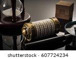 escape the room or escape game  ... | Shutterstock . vector #607724234