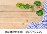 rustic wine background for a... | Shutterstock . vector #607747220