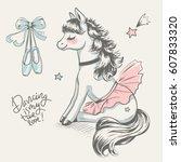 Cute Little Pony Ballerina...