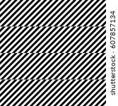 vector seamless pattern.... | Shutterstock .eps vector #607857134