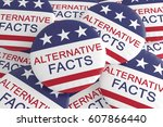 usa politics media news concept ... | Shutterstock . vector #607866440