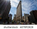 Flatiron Building And Building...