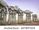 alliance  ne  usa   september... | Shutterstock . vector #607897634
