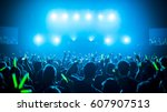 concert lights 2 | Shutterstock . vector #607907513