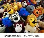 animal dolls for sale. model...   Shutterstock . vector #607940408