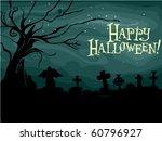 halloween themed design... | Shutterstock .eps vector #60796927