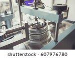 bromhead ring shear apparatus... | Shutterstock . vector #607976780