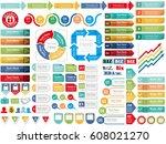 a set of various vector...   Shutterstock .eps vector #608021270