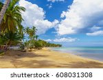 ideal place for vacation.... | Shutterstock . vector #608031308