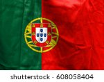 waving flag  portugal | Shutterstock . vector #608058404