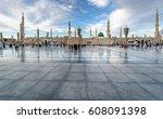 medina  kingdom of saudi arabia ... | Shutterstock . vector #608091398