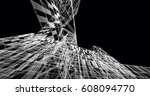 architecture building 3d... | Shutterstock . vector #608094770