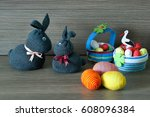Easter Decoration Two Cute Gra...