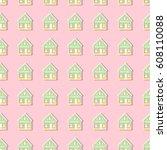 pattern building | Shutterstock .eps vector #608110088