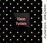 pattern square | Shutterstock .eps vector #608124644