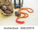 a conceptual set of objects for ... | Shutterstock . vector #608133974