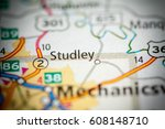 studley. virginia. usa | Shutterstock . vector #608148710