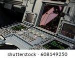 close up vief of an aircraft... | Shutterstock . vector #608149250