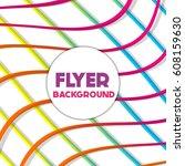 fresh background flyer style... | Shutterstock .eps vector #608159630