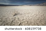 dried  cracked soil in death... | Shutterstock . vector #608159738