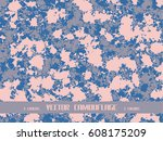 pink camouflage | Shutterstock .eps vector #608175209