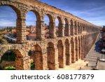 Roman Aqueduct Of Segovia  One...