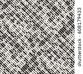 vector seamless black and white ... | Shutterstock .eps vector #608179433