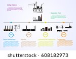 energy petroleum source | Shutterstock .eps vector #608182973