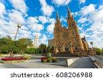 sydney  australia   february 21 ... | Shutterstock . vector #608206988