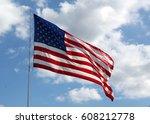 american | Shutterstock . vector #608212778